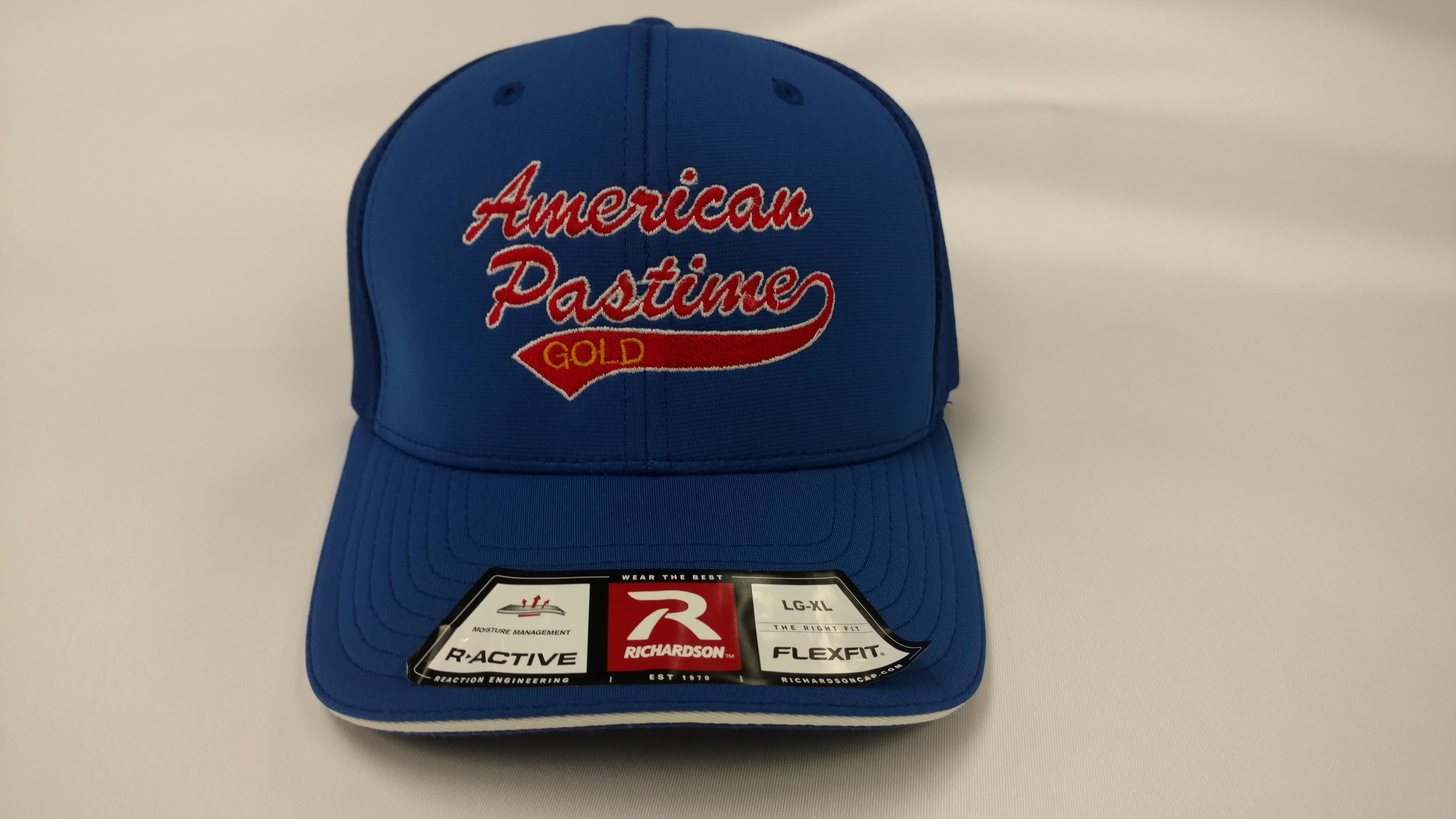 bb1ff0f13c7b6 Home   American Pastime Softball   Richardson PTS40 moisture performance hat  w American Pastime logo